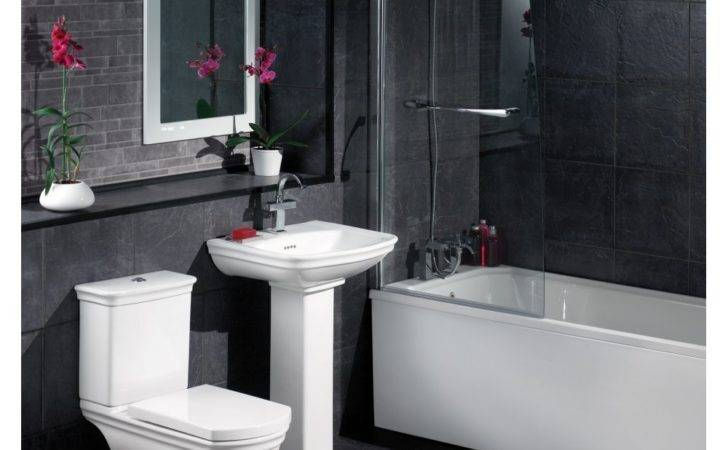 Red White Bathroom Tiles Decosee