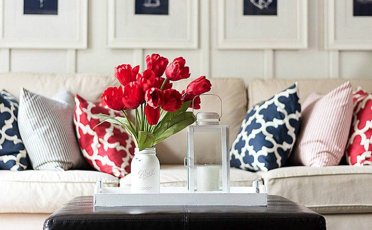 Red White Blue Americana Summer Decor All Started