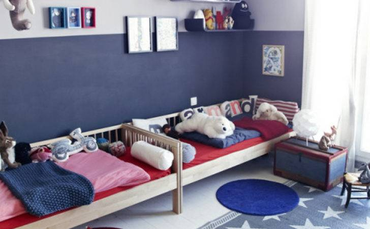 Red White Blue Boy Room Happy July Simplified Bee