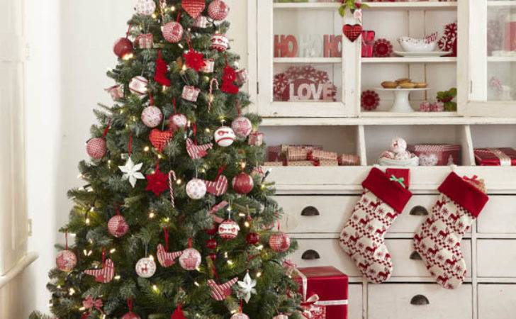 Red White Christmas Decorations All