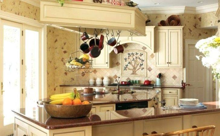 Red White Country Kitchen Inspired History