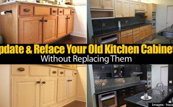 Reface Your Old Kitchen Cabinets Without