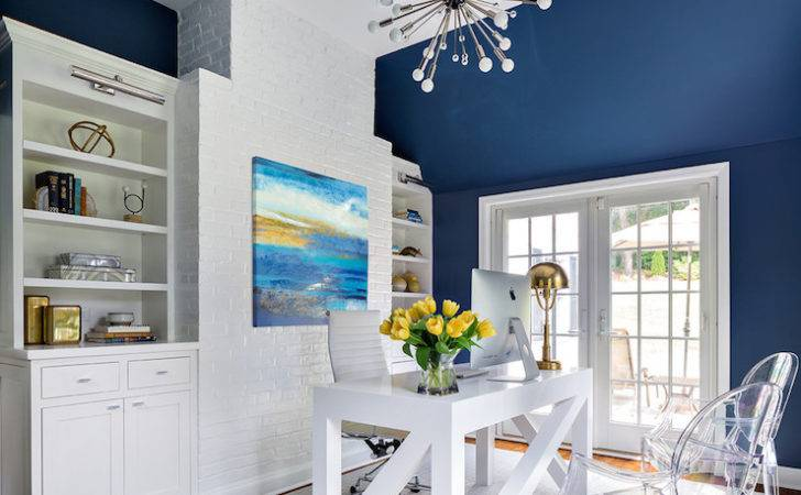 Refreshing Color Schemes Your Home Office