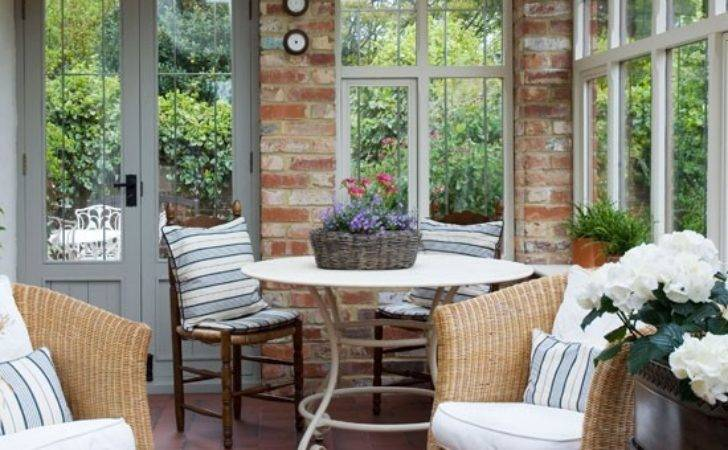 Relaxed Country Seating Area Ways