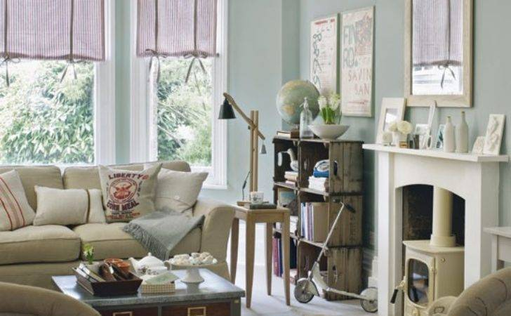 Relaxed Vintage Living Room Idea