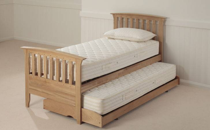 Relyon New England Guest Bed Open Coil Mattress Waxed