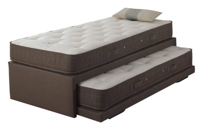 Relyon Upholstered Guest Bed Tweed Mattresses