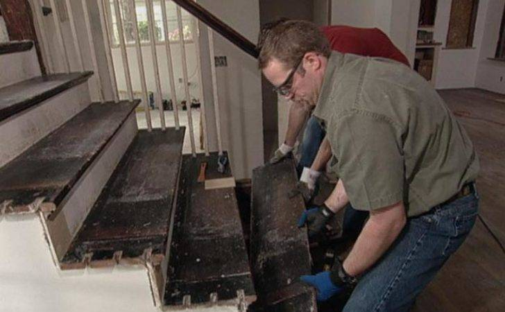 Replace Staircase Treads Tos Diy
