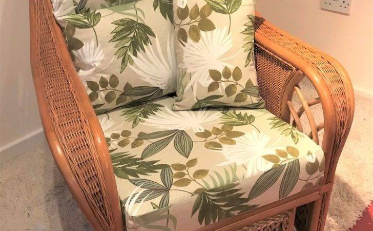 Replacement Cushions Cane Conservatory Furniture Suite Ebay