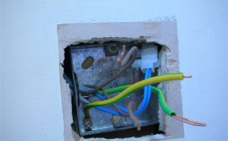 Replacing Light Switch Fitting