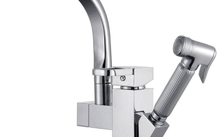 Retail Luxury Pull Out Spray Kitchen Faucet Removable