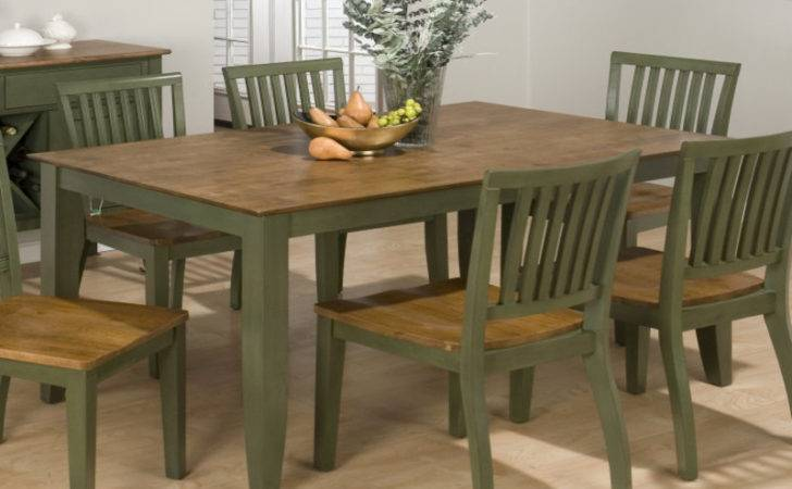 Retro Dining Room Sets Sage Green