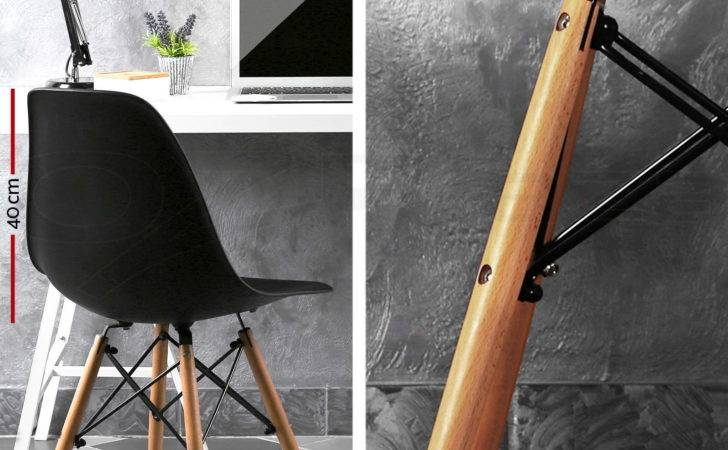 Retro Replica Eames Eiffel Dining Chair Cafe Kitchen