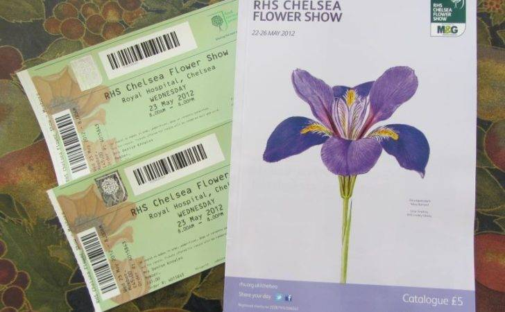 Rhs Chelsea Flower Show Tickets All Day Admission