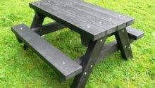 Ribble Junior Picnic Table Recycled Plastic Heavy Duty