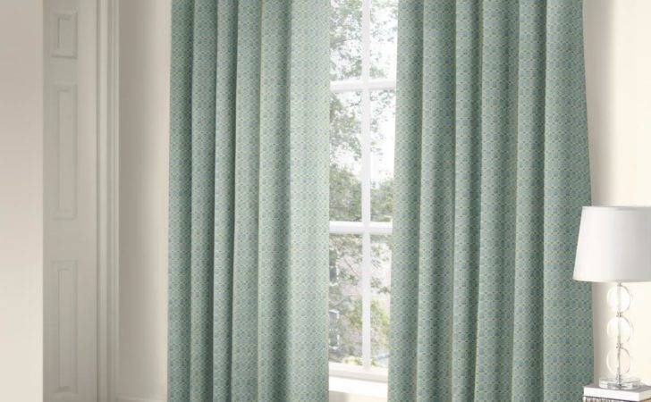 Ritz Eyelet Curtains Duck Egg Delivery