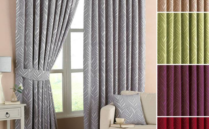 Riva Home Willow Lined Ready Made Pencil Pleat Curtains