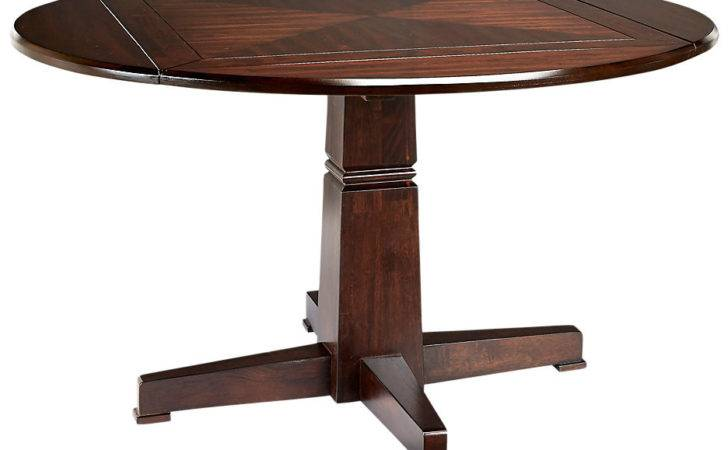 Riverdale Cherry Round Dining Table Tables Dark Wood