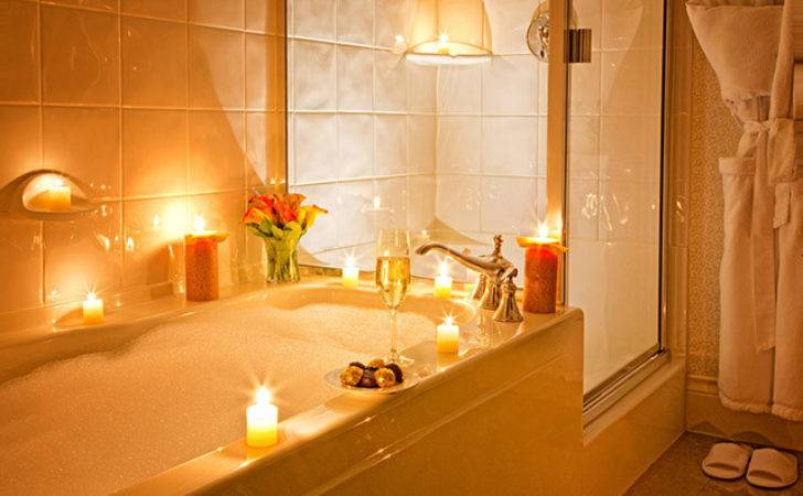 Romantic Bathroom Ideas Valentine Day