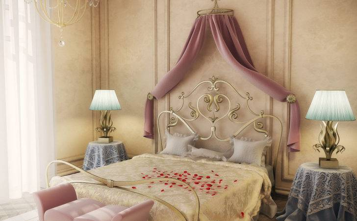 Romantic Bedrooms Simple Home Decoration