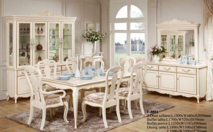 Romantic Dining Room Set China Mainland Furniture