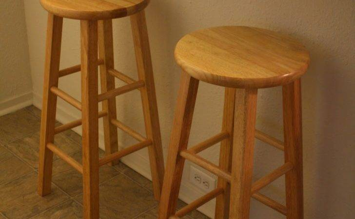 Romantic Home Kitchen Bar Stools Chalk Painted Show