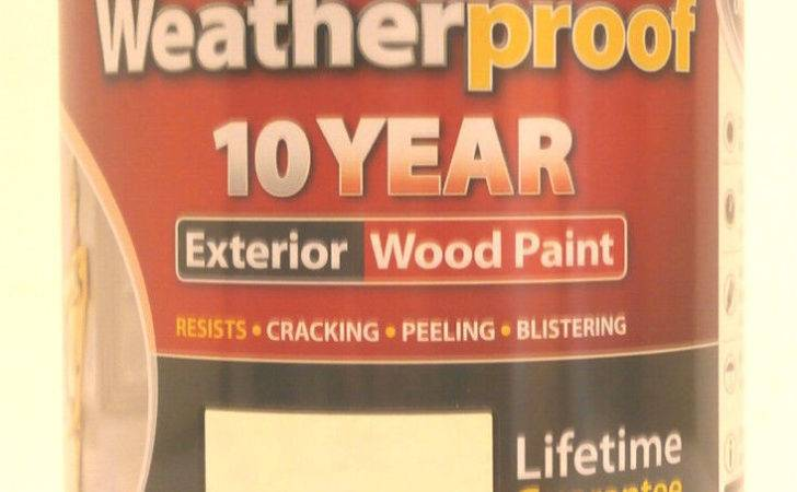 Ronseal Weatherproof Year Exterior Wood Paint Country