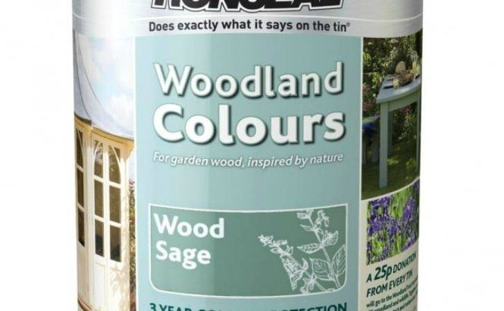 Ronseal Woodland Trust Colours Wood Sage