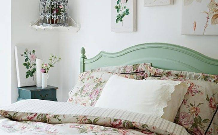 Rose Print Bedroom Vintage Style Housetohome