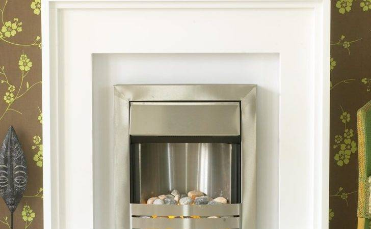 Rosena White Fireplace Suite Helios Electric Fire