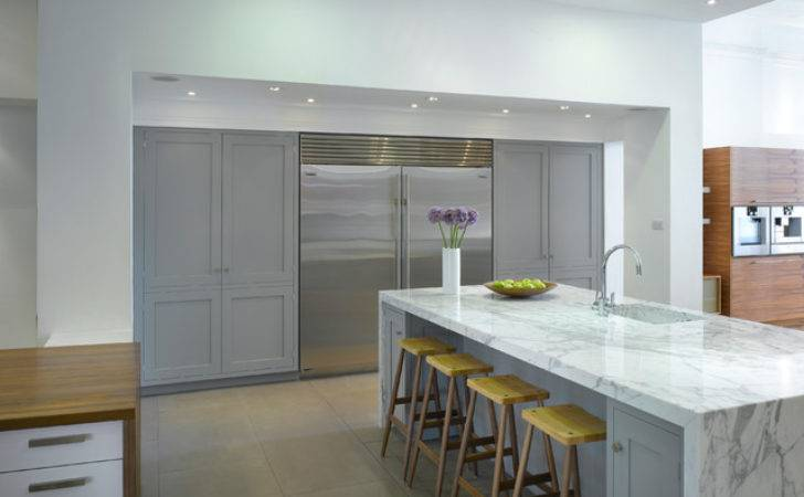 Roundhouse Kitchen Materials Contemporary