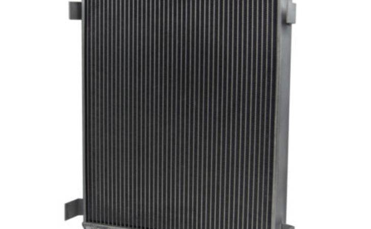 Row Core Aluminum Radiator Ford