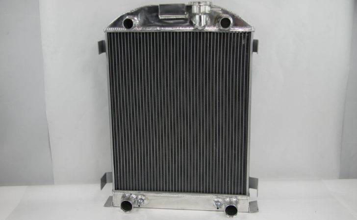 Row Pass Aluminum Radiator Ford Model Flathead