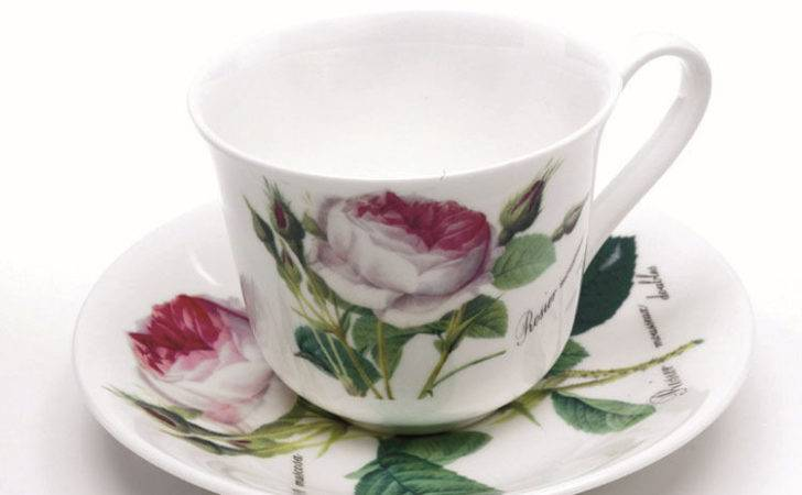 Roy Kirkham Traditional Redoute Rose Large Breakfast Cup