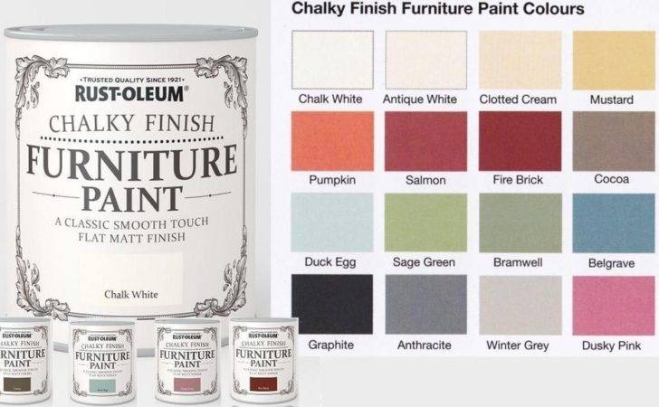 Rust Oleum Chalk Chalky Furniture Paint Chic