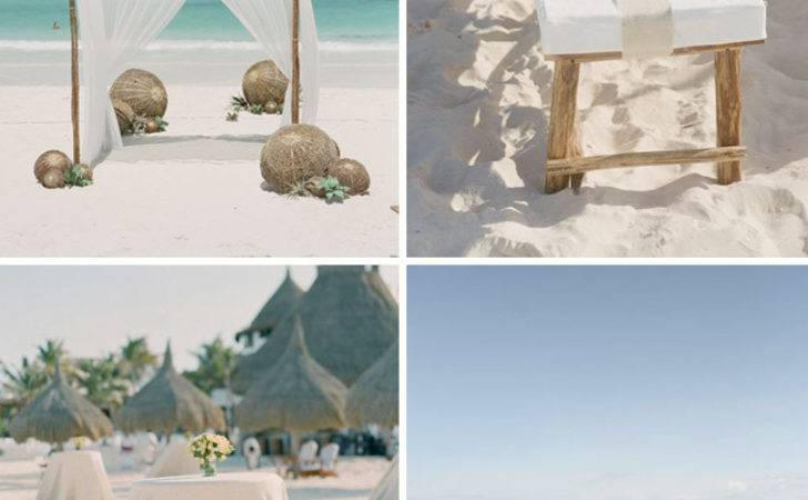 Rustic Beach Wedding Inspiration Green Shoes