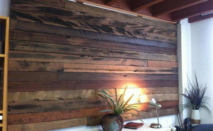 Rustic Feature Wall Panels Recycled Timber Ebay