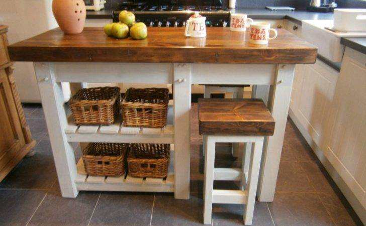 Rustic Kitchen Island Breakfast Bar Vintage Corner