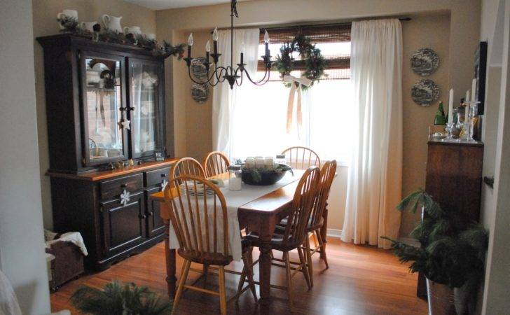 Rustic Maple Christmas Our Country Dining Room