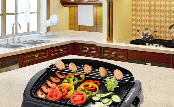 Safe Electric Bbq Grill Griddle Nonstick Indoor Barbecue