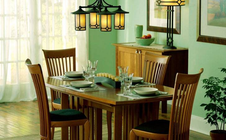Sage Green Dining Design Creates Warm Feeling Room