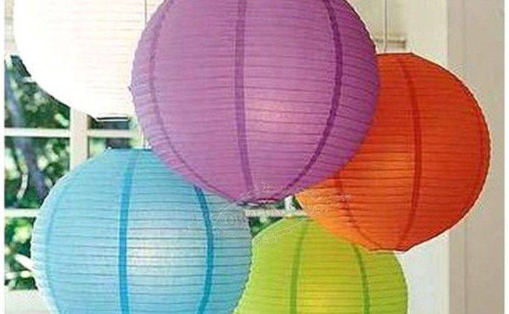 Sale Multi Color Chinese Paper Lantern Lampshade