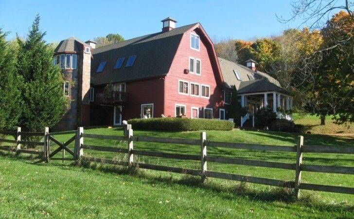 Sale Old Red Barn Converted Into House