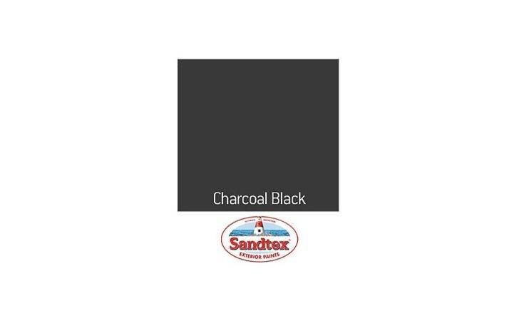 Sandtex Year Exterior Gloss Paint Charcoal Black