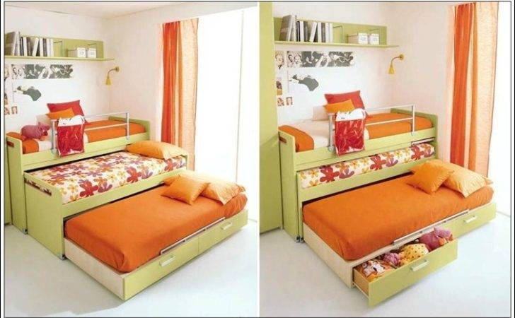 Save Space Smartly Trundle Beds