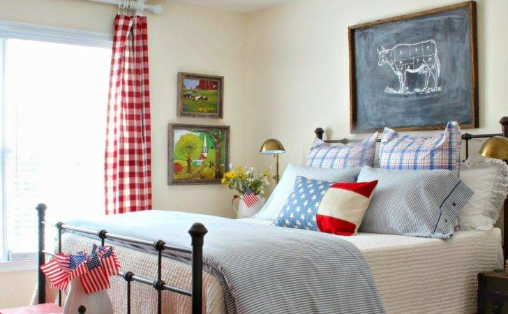 Savvy Southern Style Patriotic Favorite Room