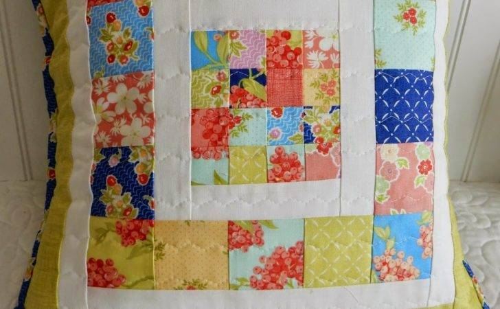 Scrappy Patchwork Pillow Tutorial Quilting Life