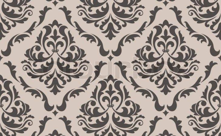 Seamless Victorian Style Vector