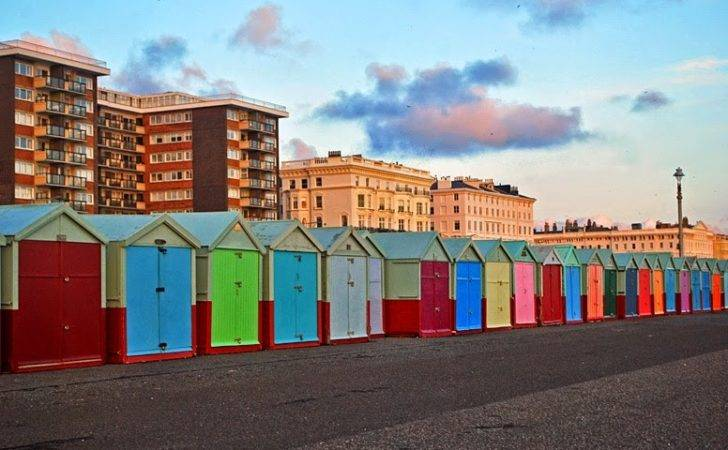 Searching Colourful Huts Hove Travel Life