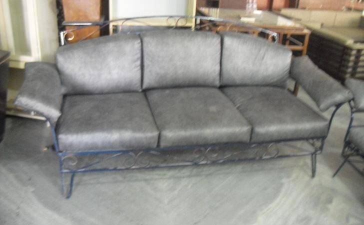 Seater Sofa Wrought Iron Used Furniture Sale